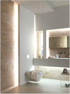 Bad modern gestalten mit Licht #texturedwallideas #Bad #gestalten #Licht #Mit #Modern #texturedwallideasbathroom #wallideas #wandideen
