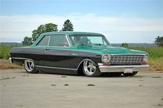 Hotrodjunkie, anrill:     64 Nova - Awesome ….  Big City Muscle