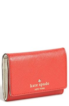 kate spade new york 'mikas pond - darla' french wallet available at #Nordstrom