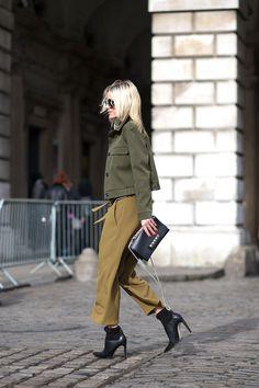 93c369376 The Best London Fashion Week Street Style  Fall 2015 - HarpersBAZAAR.com  Moda Beleza