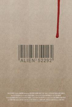 Poster for Alien 3 by Scott Saslow. #alien3 #davidfincher #sigourneyweaver #charlessdutton #charlesdance #paulmcgann #lancehenriksen #sciencefiction #horror #90s #movieposter #graphicdesign #posterdesign #fanart #alternativefilmposter #alternativemovieposter