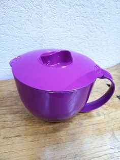 Tupperware Microkanne 1 Liter lila neu