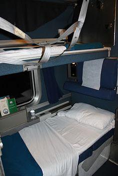 Roomette on Amtrak Empire Builder