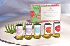 Coast Sydney Natural Perfume Oil - 5 Minis Sample Pack | Naturally Safe Cosmetics