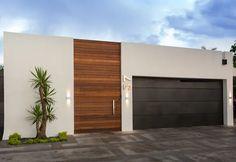 Exterior Design Garden Garage Doors – Home Board Picture Best Exterior Paint, Design Exterior, Exterior Paint Colors For House, Garage Door Design, House Front Design, Garage Doors, Layouts Casa, House Layouts, House Front Porch