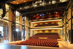 Theatre 'The Kampanje' is the new cultural centre and playhouse of Den Helder…