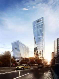 MOTYW's render of Office Complex in Seattle made by NBBJ http://www.motyw.org/37192/2314157/work/westlake