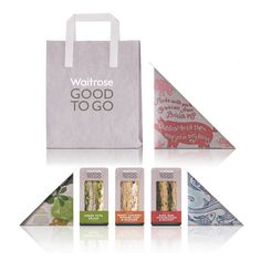 Waitrose Good to Go packaging by Turner Duckworth