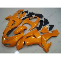Kawasaki NINJA ZX10R 2006-2007 Injection ABS Fairing - Others - All Orange | $639.00