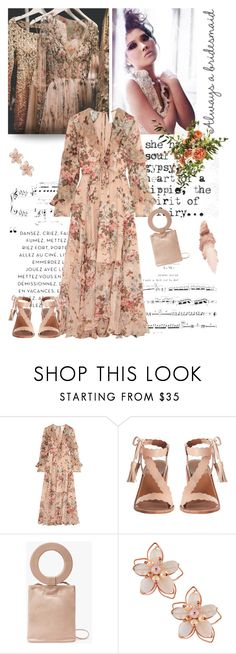 """""""Always a bridesmaid"""" by jan31 ❤ liked on Polyvore featuring Zimmermann, Modern Weaving, NAKAMOL, Maybelline, florals and alwaysabridesmaid"""