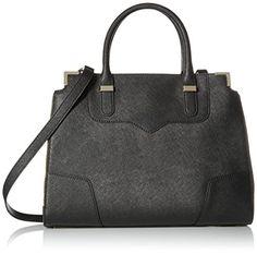 Rebecca Minkoff Amorous Satchel Handbag,Black,One Size Rebecca Minkoff http://smile.amazon.com/dp/B00DHFPA0K/ref=cm_sw_r_pi_dp_Wb3Dwb118NQ7A