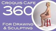 Croquis Cafe 360: Drawing and Sculpture Resource, Simone #2