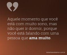 Falando com uma pessoa que ama muito...saudades❤️
