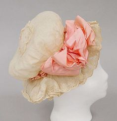 Hat | American, 1900-1905 | Material: cotton | The Metropolitan Museum of Art, New York