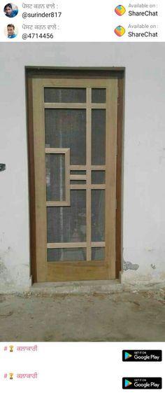 New Front Closet Ideas Offices Ideas Wooden Front Door Design, Main Entrance Door Design, Door Gate Design, Room Door Design, Door Design Interior, Wooden Front Doors, Wood Doors, Net Door, Door Design Images