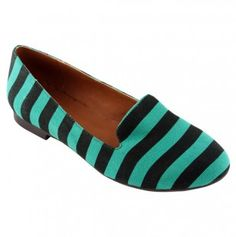 striped loafers. :)