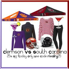 Clemson vs. South Carolina | RIVALRY DAY | 25% off site wide TODAY ONLY | #Tigers vs. #Gamecocks