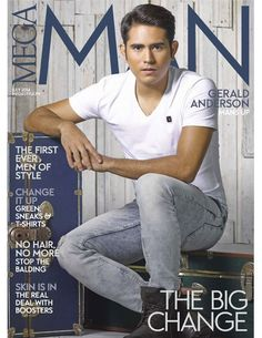 Mega Man Magazine [Philippines] (July 2014) Gerald Anderson