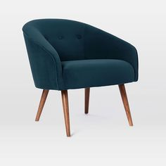 Eve Buttoned Chair   west elm