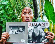 #DwayneJohnson #TheRock #Jumanji start shooting September 2016 #Hawaii