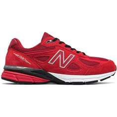 New Balance 990v4 Men s Made in USA Shoes ( 165) ❤ liked on Polyvore  featuring 82554e4a7