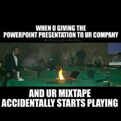 Mixtape meme, powerpoint preesentation