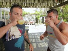 "The Kitchen Cousins try out the margaritas they made. See their new series ""Chill & Grill"" on ulive!"
