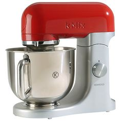 Buy Raspberry Red Kenwood kMix Stand Mixer from our Food Mixers range at John Lewis & Partners. Kettle And Toaster, Speed Foods, Stainless Steel Bowl, Cake Mixture, Pasta Maker, Cleaning Recipes, Creme Caramel, Piece Of Cakes, Salads