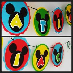 Banner personalizado Mickey Mouse