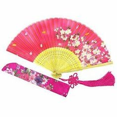 Japanese Wall décor is truly mystical, enchanting and  beautiful. Chances are you have seen  those pretty Japanese wall fans or a captivating cherry blossom painting. Either way Japanese home wall art décor is  stylish, unique and very popular in homes across the USA.   Wise Bird Chinese Japanese Folding Hand Fan for women, Summer Cooling Accessories Vintage Retro Style 8