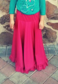 23. Falda de ensayo de flamenco | Asuncosturillas