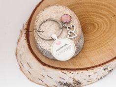 Schlüsselanhänger - Silber Schlüsselanhänger ❤ Schwester - ein Designerstück von Forar bei DaWanda