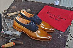www.emillosanto.com #handmadeshoes #Italianhandmadeshoes #handmadeleathershoes #handmadeloafersformen