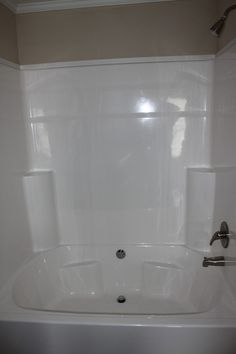 Nice, Large Garden Tub/shower Combo!