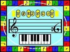 K-5 curriculum guides for music as well as band/choir and general music for Middle