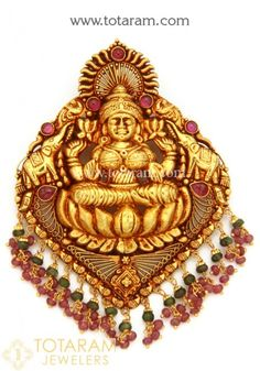 Gold Pendants - View and shop our collection of 22K gold pendants made in India