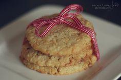 Cookies mit weißer Schokolade und Ingwer *
