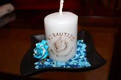 Resultado de imagen para velas decoradas para bautizo niña