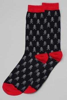 Skull Icon Sock @Urban Outfitters