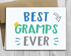 Best Papa Ever Simply Stated Father's Day Greeting by DesignsLM
