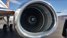 Here's What Those White Spirals Inside Airplane Engines Are For  If you've ever traveled on a commercial airplane, there's a likely chance you've noticed those little white swirls in the center of those engines on …  http://jalopnik.com/heres-what-those-white-spirals-inside-airplane-engines-1793128634