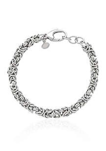 Jewelry & Watches Devoted 925 Sterling Silver Custom Made Ladies Anklet W/ 8 Cts Genuine Emerald Clearance Price Fine Jewelry