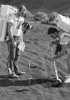 December 1970 - Rare NASA photos of Apollo astronauts training in Hawaii - Pictures - CBS News