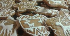 Gingerbread Decorations, Gingerbread Cookies, Xmas Food, Christmas Baking, Cookie Recipes, Dessert Recipes, Xmas Dinner, Hungarian Recipes, Winter Food