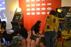 Lounge Atari / Cobertura: Game on! | | Garotas Geeks