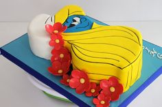 Celebrate with Cake!: Smurfette Cake
