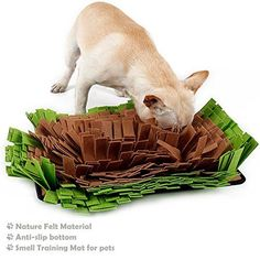 Dog Snuffle Mat Feeding MatDog Smell Training Mat Stress Release Nosework Blanket Durable and Machine Washable Dogs Puzzle Toys Encourages Natural Foraging Skills -- Visit the image link more details. (This is an affiliate link) #dogtrain