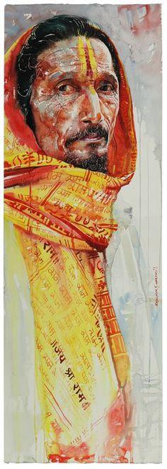 Watercolour Artist Rajkumar sthabathy