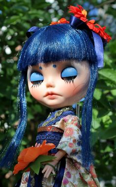 MeiMei OOAK Custom Blythe Doll by Meadowdoll by meadowdolls