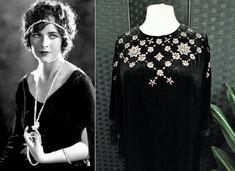 Embellished Dress, Sequin Dress, Boho Dress, Black Velvet Dress, Dress Black, Old Hollywood Dress, 1920s Fashion Dresses, Bias Cut Dress, Art Deco Dress